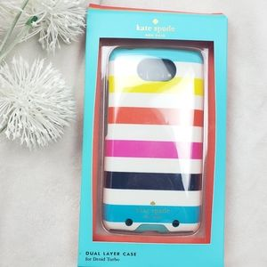 Kate Spade Cell Phone Cover Skin Dual Layer Case f